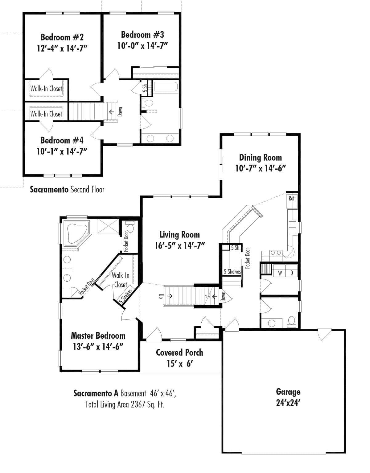 Unibilt Sacramento A Floorplan