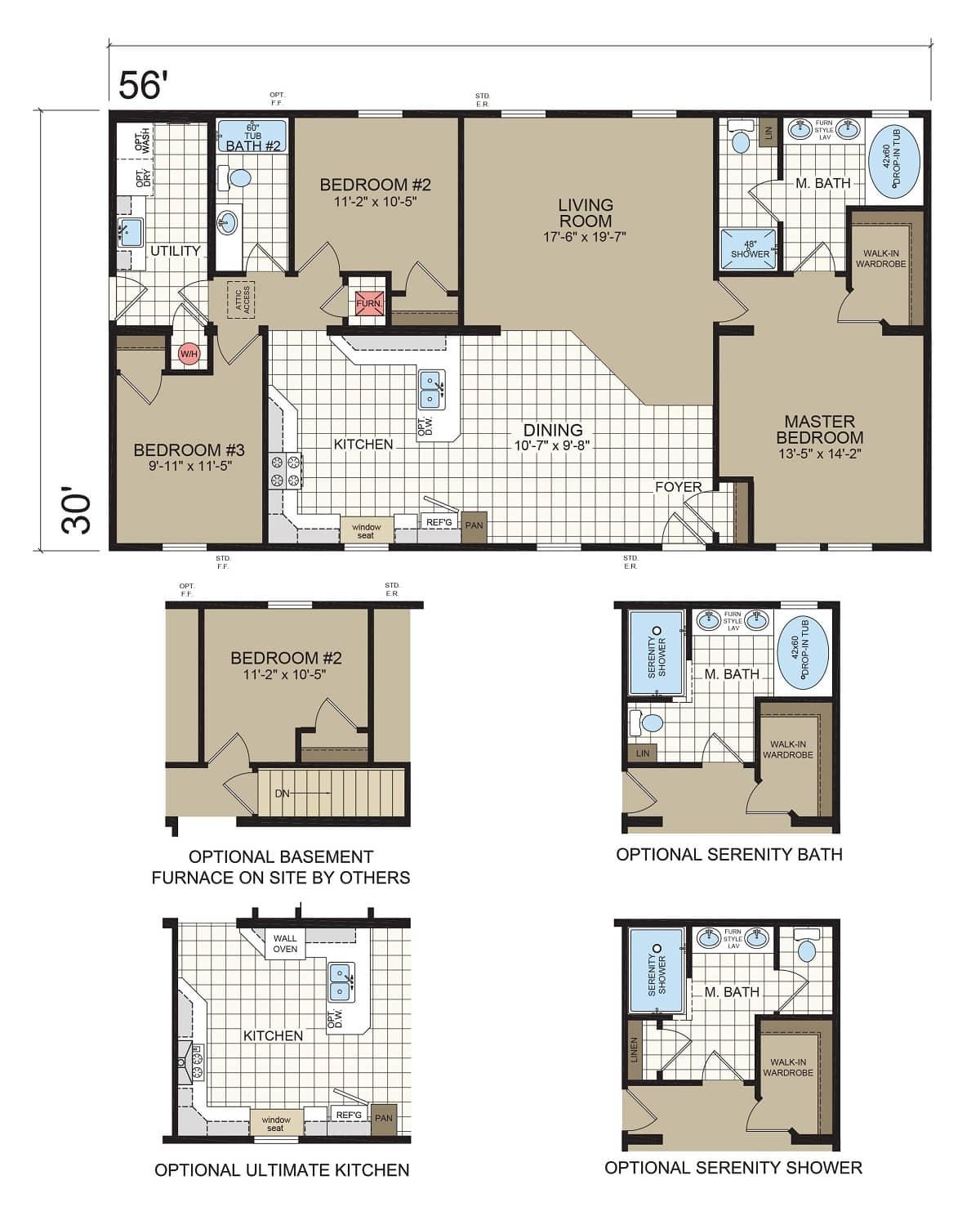 Champion Barclay 5617 Floorplan