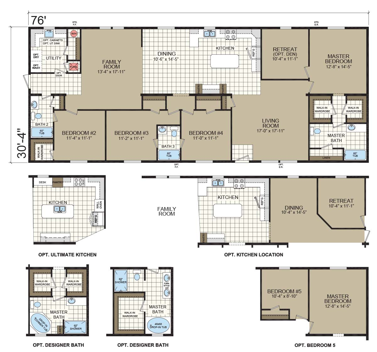 Champion Gold Star 3280 209 Floorplan