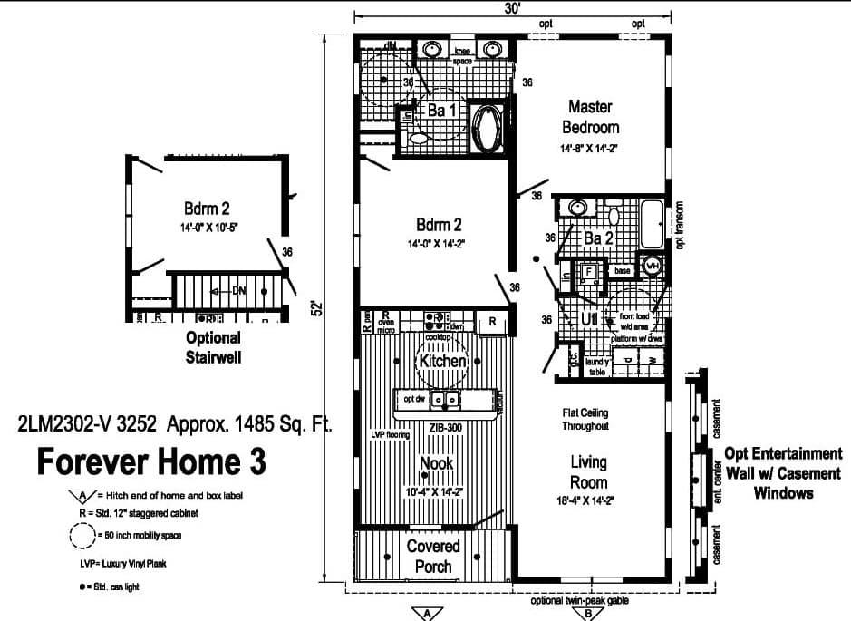 Commodore Landmark Forever Home 3 2LM2302