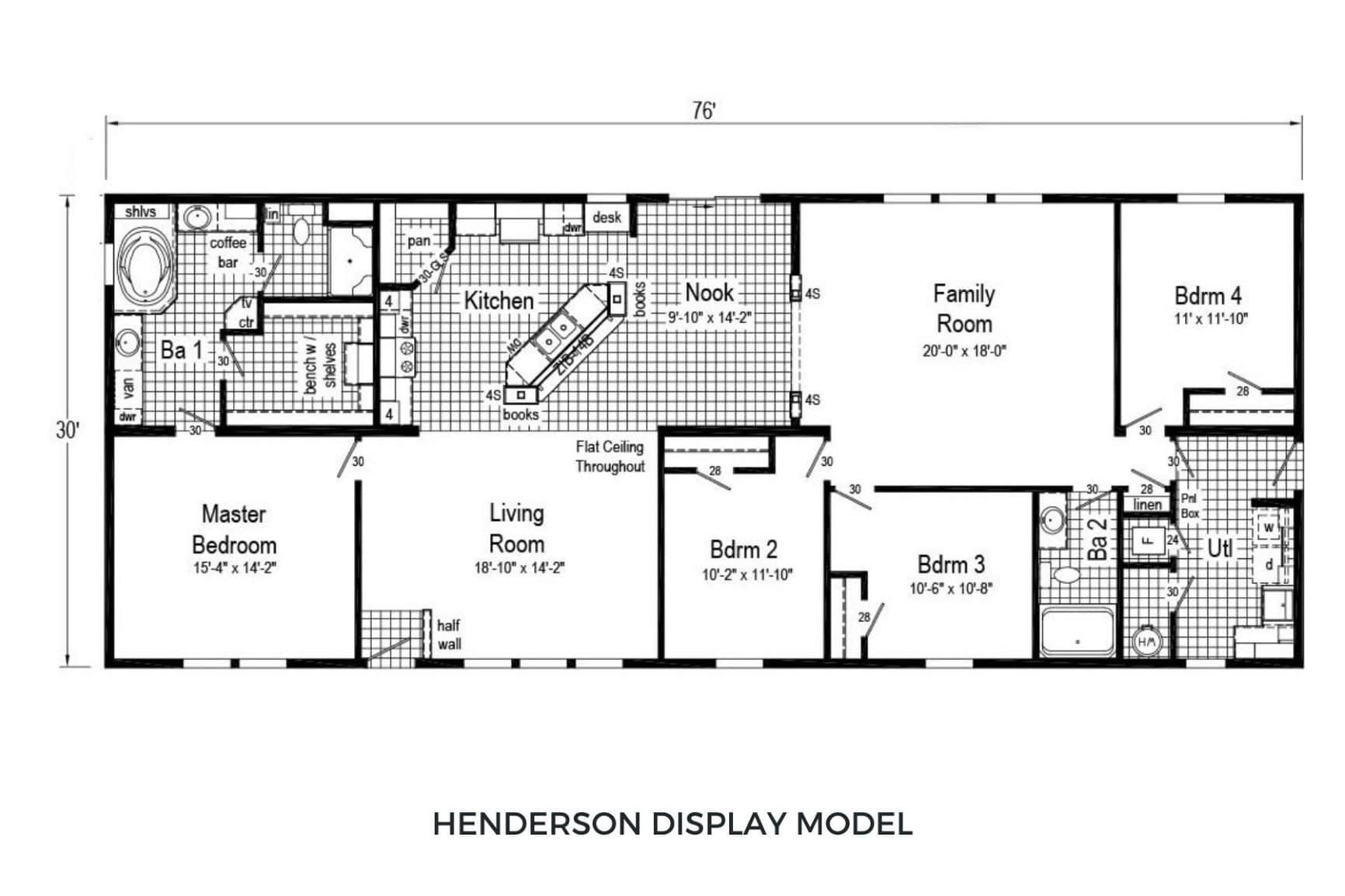 Commodore Pinewood Henderson FP