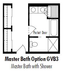 Unibilt Grandview Master Bath Opt GVF