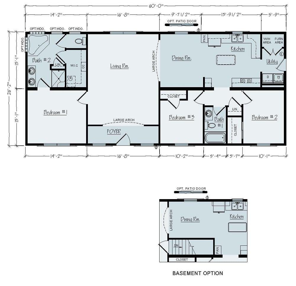 Rochester Elkins R46 Floorplan