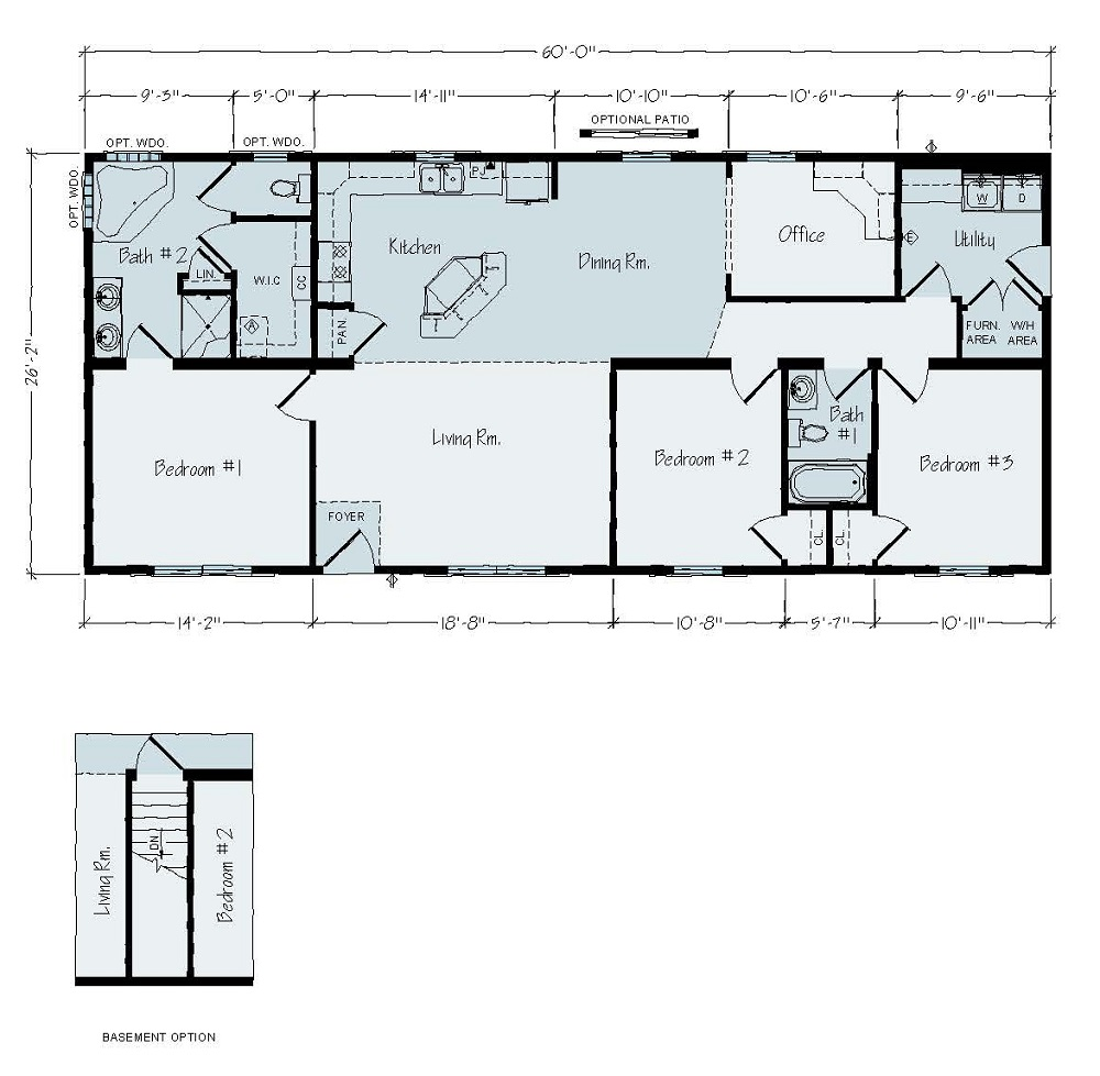 Rochester St Paul R40 Floorplan