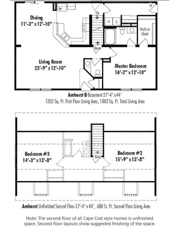 Unibilt Amherst B Floorplan Update