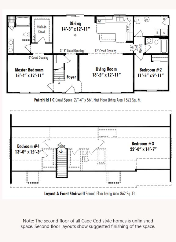 Unibilt Fairchild I C Floorplan Updated