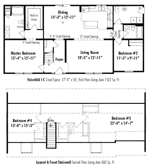 Unibilt Fairchild I C Floorplan