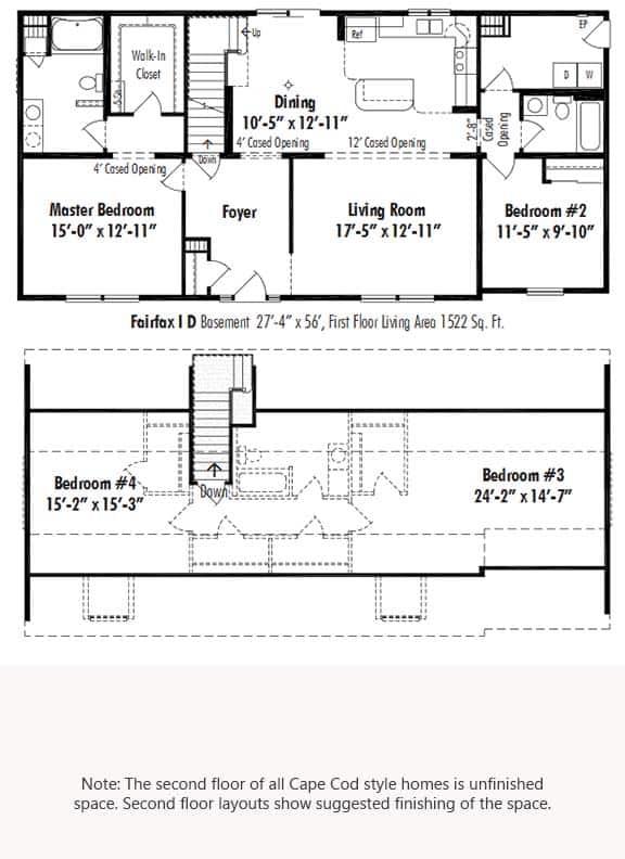 Unibilt Fairfax I D Floorplan Updated