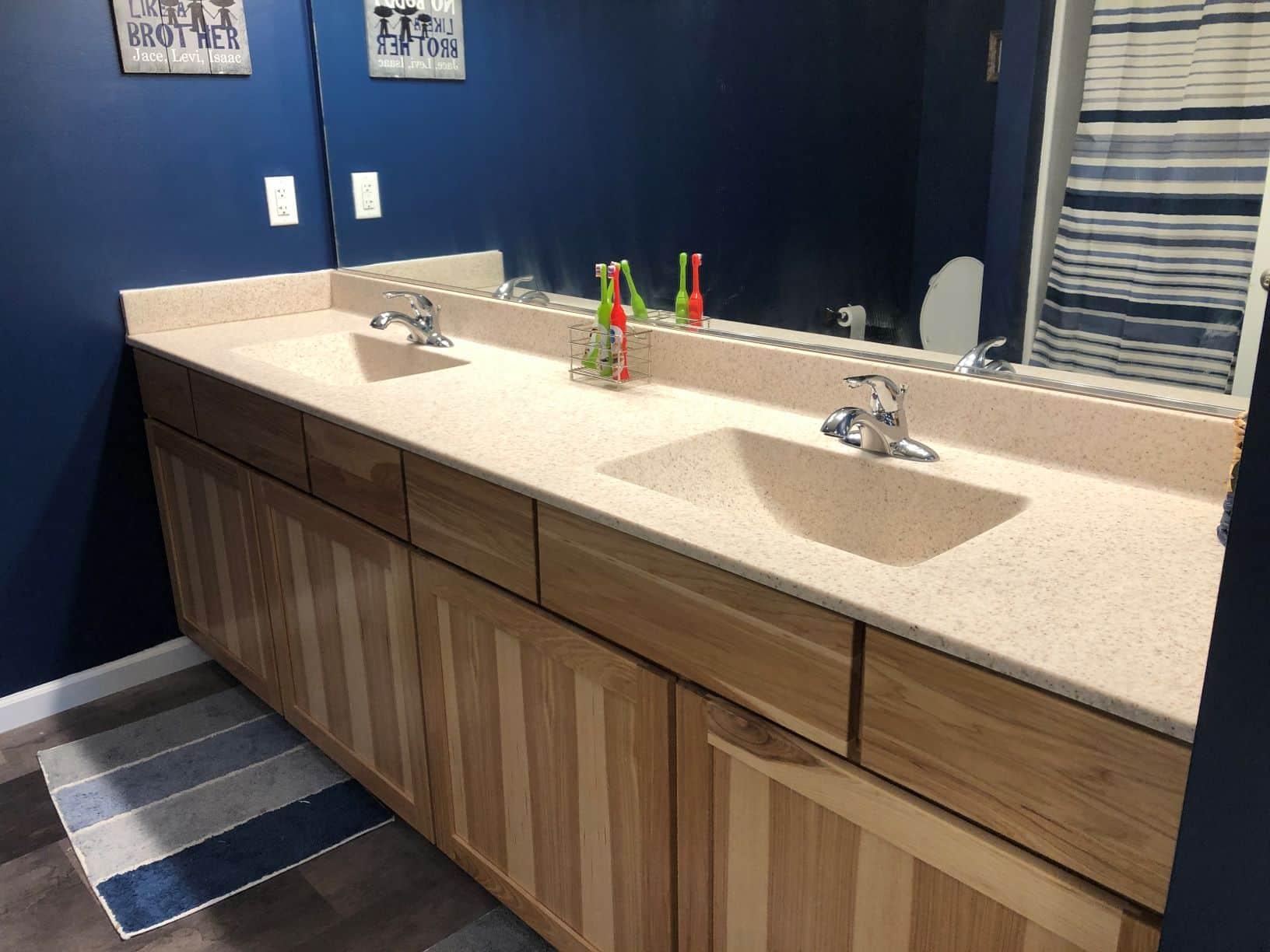Unibilt Jefferson III E Customer 2nd Bath 2