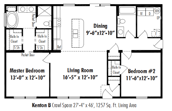 Unibilt Kenton B Floorplan