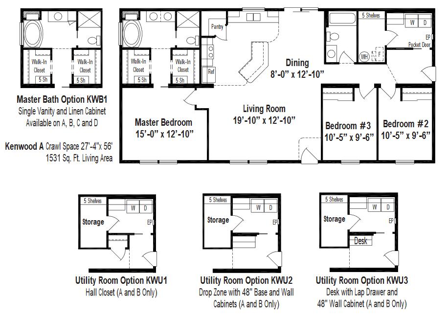Unibilt Kenwood A Floorplan