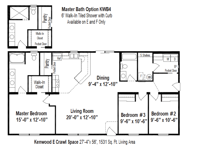 Unibilt Kenwood E Floorplan