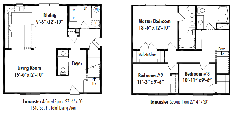 Unibilt Lancaster A Floorplan