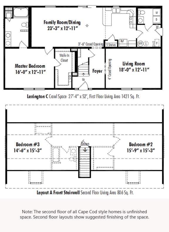 Unibilt Lexington C Floorplan Updated