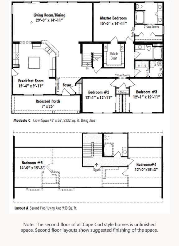 Unibilt Modesto C Floorplan Updated