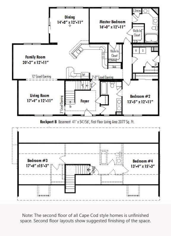 Unibilt Rockport B Floorplan Updated