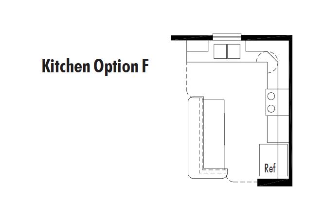 Unibilt Streetsboro Kitchen Opt