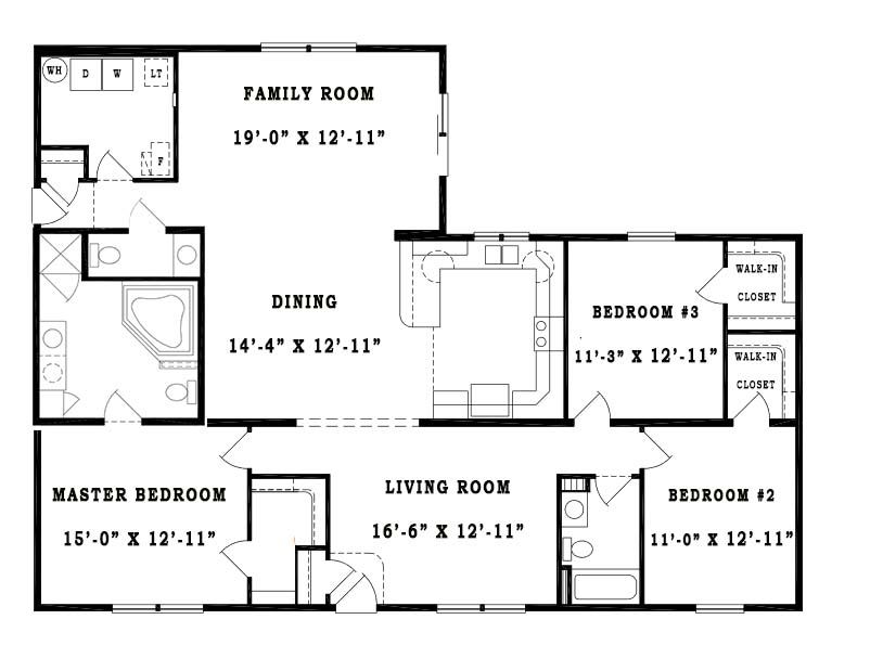 Unibilt Waverly B Floorplan Jackson