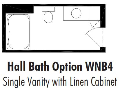Unibilt Winfield Hall Bath Opt