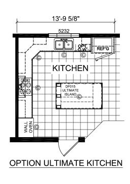 Champion Barclay 6017 Kitchen Option