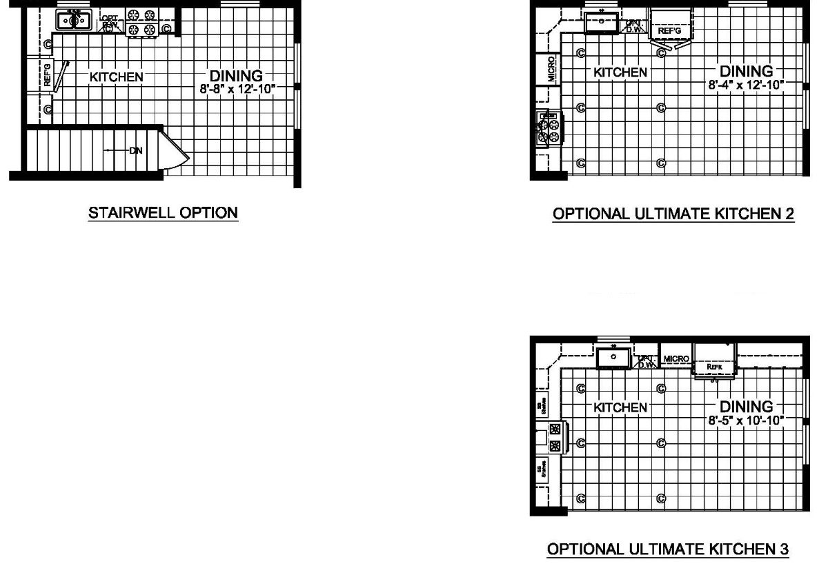 Champion Barclay 4801 Floor Plan Options