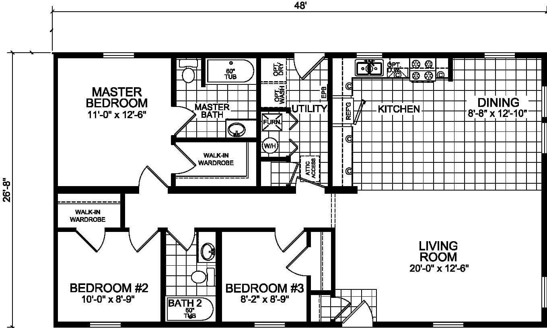 Champion Barclay 4801 Floor Plan