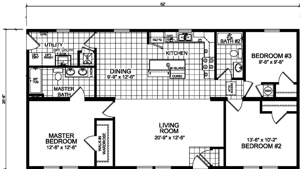 Champion Barclay 5205 Floor Plan