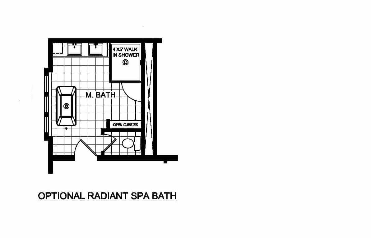 Champion Barclay 6409 Floor Plan Option 2