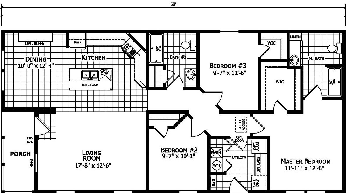 Champion Gold Star 2860 239 Floor Plan