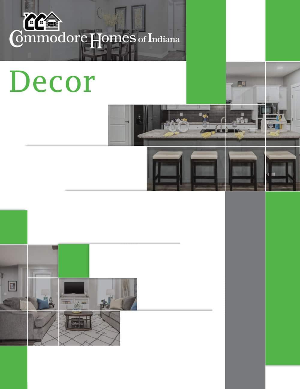 D&W Homes - Commodore Decor Cover