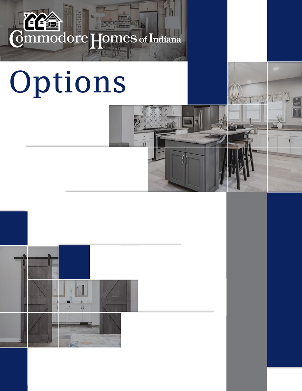 D&W Homes - Commodore-Options Cover
