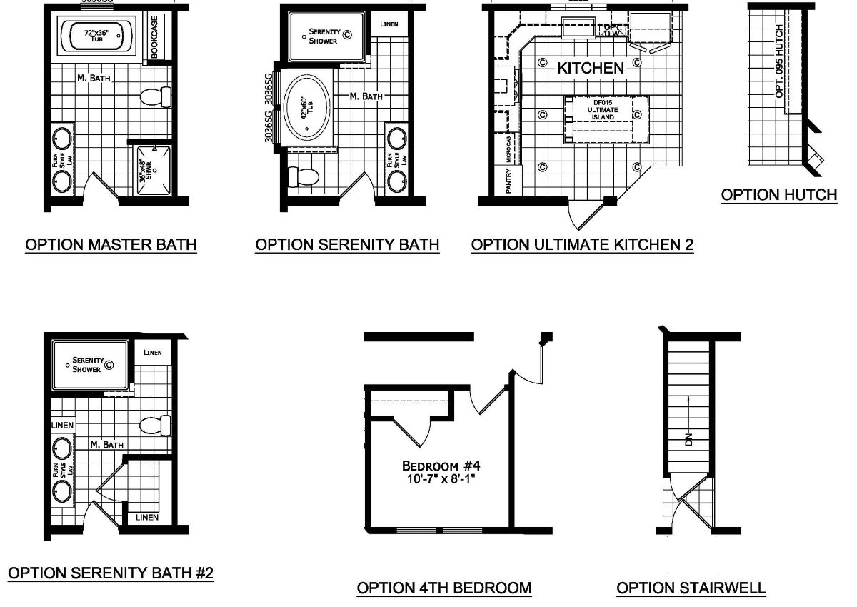 Champion Barclay 6419 Floor Plan Option