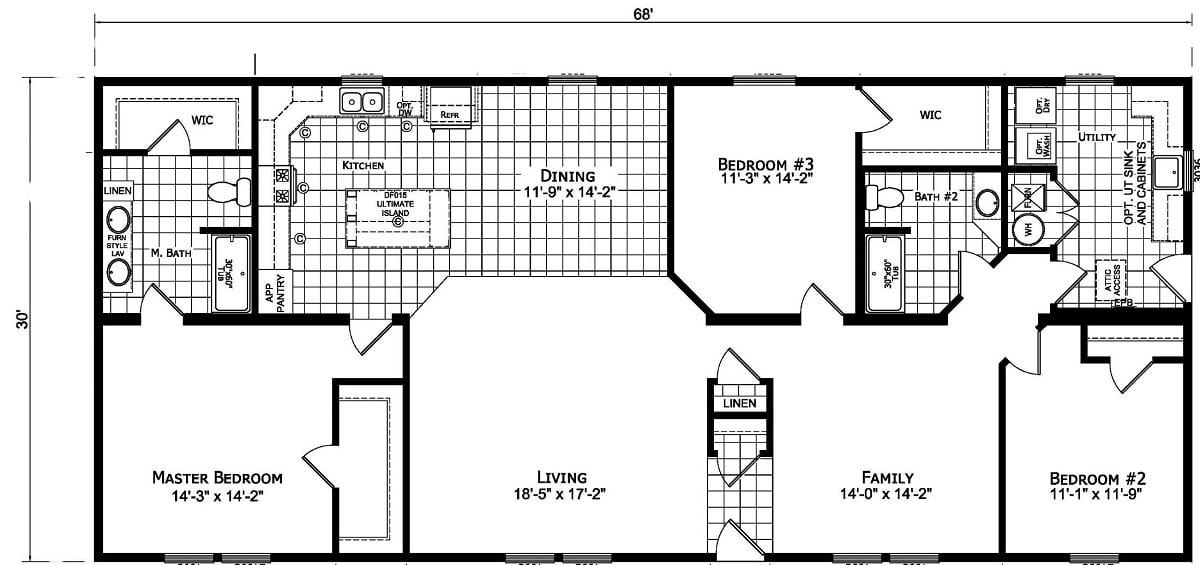 Champion Barclay 6815 Floor Plan