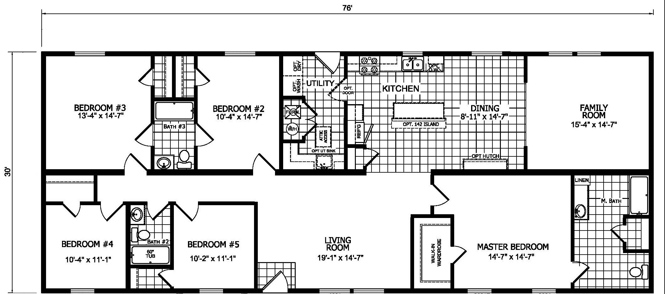 Champion Gold Star 3280-213 Floor Plan