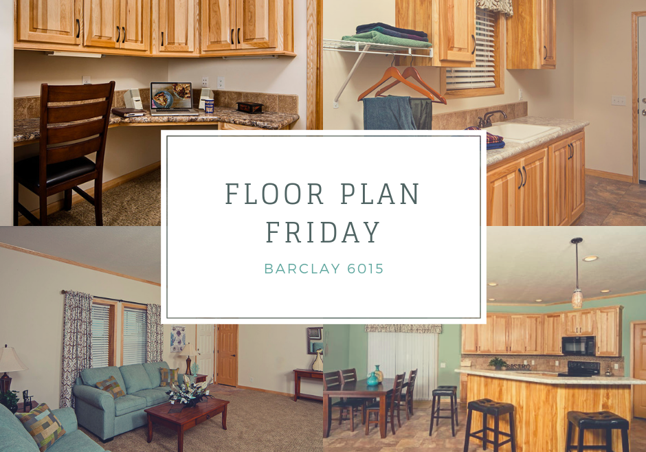 Barclay 6015 Floor Plan Friday